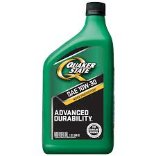 quaker state advanced durability 10w 30 motor oil 1 qt walmart com