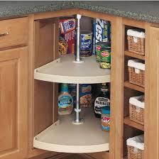 RevAShelf Traditional DoorMount PieCut Shelf Polymer Lazy - Lazy susans for kitchen cabinets