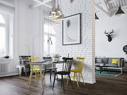 white brick interior design ideas