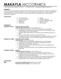 Technical Support Job Description For Resume by Curriculum Vitae Security Officer Description For Resume