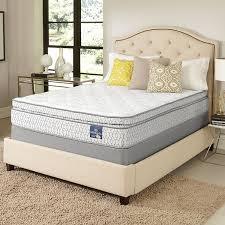serta amazement pillowtop queen size mattress set free shipping