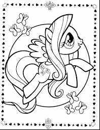 Brilliant My Little Pony Coloring Pages With Free My Little Pony My Pony Coloring Pages Fluttershy Equestria Free