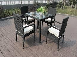 White Patio Dining Sets - modern furniture modern patio dining furniture expansive cork