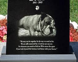 headstones for dogs thelaserspecialists on etsy