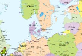 Germany Map Europe by Hiking Map Map E9 East Gif