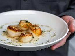 lemon beurre blanc recipe seared sea scallops with lemon herb beurre blanc the joy of cooking