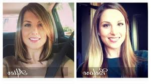 before and after picuters of long to short hair haircuts from long to short long to short haircut before amp after