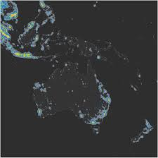 World Map Showing Netherlands by The New World Atlas Of Artificial Night Sky Brightness Science