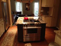 stove in kitchen island kitchen island with built in stove contemporary throughout plan 0