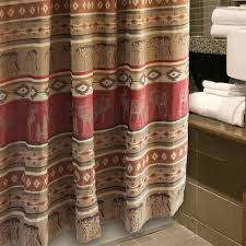 Pinecone Bathroom Accessories by Clearance Lodge Outhouse Shower Curtain U0026 Accessories Cabin Place