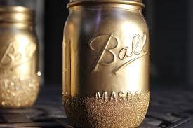 diy glitter mason jars youtube