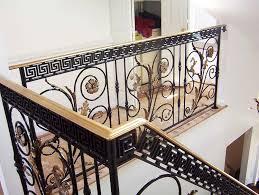 stairs astounding cast iron railing wrought iron indoor railing