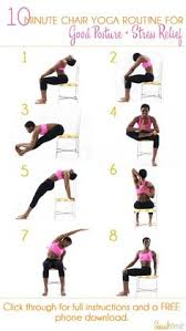 Armchair Yoga For Seniors How To Become More Flexible Infographic Sports Specific Exercise