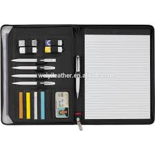 Portfolio Folder For Resume 2015 A4 Pu Document Organiser Portfolio Folder With Zipper Closure