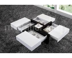 table cuisine escamotable tiroir table basse design 4 tiroirs une table basse laquée brillante