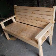 Woodworking Plans Park Bench Free by Project How To Make A Park Bench With A Reclined Seat Out Of 8