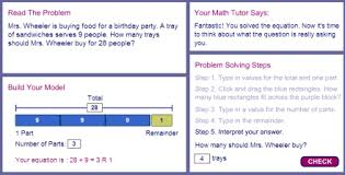 education world math problem solving with pictures