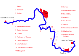 map uk villages vale of white villages on the river thames