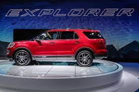 Ford Explorer Ecoboost - 2016 ford explorer adds platinum trim and new engine for l a debut