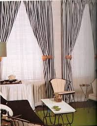 Black And White Stripe Curtains White And Black Striped Curtains Decorating With Black And