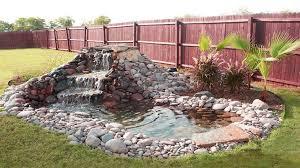 beautiful waterfall ideas for small ponds backyard garden pond
