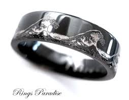 Mens Tungsten Wedding Rings by Best 25 Black Tungsten Wedding Bands Ideas On Pinterest