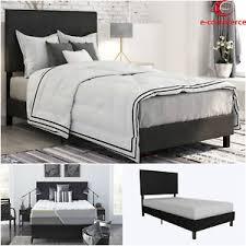 upholstered headboard bed ebay