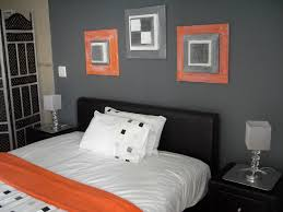 Bedrooms And More by Orange And Grey Bedroom Love The Colors Especially Like The