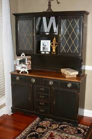 Kitchen Hutch Ideas Beautiful Black Kitchen Hutch Also Sideboards Buffets Dining Room