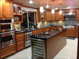 kitchen island with refrigerator best wine coolers haier cellar how to build bottle