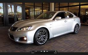 lexus cars 2011 2011 lexus is f start up exhaust and in depth tour youtube