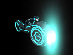 Tron Legacy Light Cycle Grid Light Cycle Bike Model