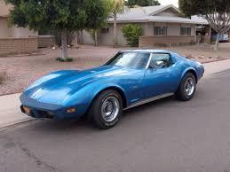 1975 corvette stingray for sale chevrolet corvette coupe 1975 blue for sale 1z37j5s428911 1975