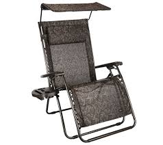 bliss hammocks deluxe xl gravity free recliner with canopy u0026 tray