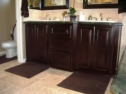 All Wood Bathroom Vanities by Dark Wood Bathroom Vanity