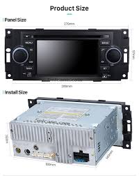 car gps navi radio stereo player for chrysler aspen jeep liberty