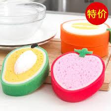 eponge cuisine épaisseur fruits forme magique éponge cuisine outil de nettoyage