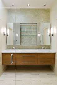 Contemporary Medicine Cabinet Bathroom Contemporary With Medicine - Floor to ceiling cabinets for bathroom