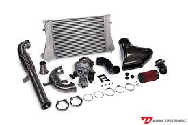 volkswagen parts stage 2 turbo upgrade kit for 2 0 tsi gen3 mqb fwd by unitronic