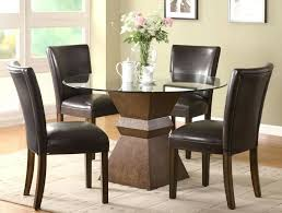 dining chairs round dining room set for 4 round dining table