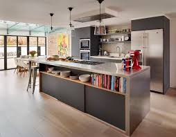 view open space kitchen room design decor contemporary at open