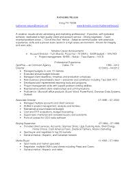 Resume Samples For Executives ad agency account executive sample resume microsoft resume samples