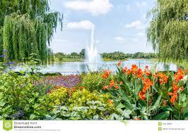 Chicago Botanic Garden Map by Chicago Botanic Garden Usa Stock Photo Image 45410852