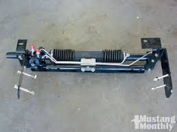 mustang 2 power rack and pinion how to install rack and pinion steering on your 1965 1970 mustang