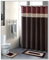 Shower Sets For Bathroom Bathroom Sets With Shower Curtain Bikepool Co