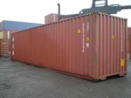 inside a shipping container a little cable server and