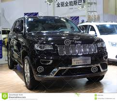 car jeep jeep grand cherokee car editorial photography image 35264932