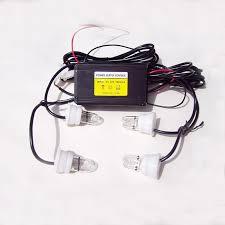 strobe lights for car headlights 4pcs car u spiral tube fog l flash l strobe light headlight
