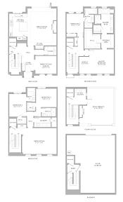 Media Room Floor Plans Villas Plan 4a Pasadena Perfected