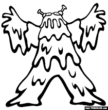 Coloring Pages Monsters Funycoloring Coloring Pages Monsters
